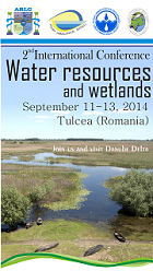 Water resources and wetlands, 11-13 September 2014, Tulcea Romania