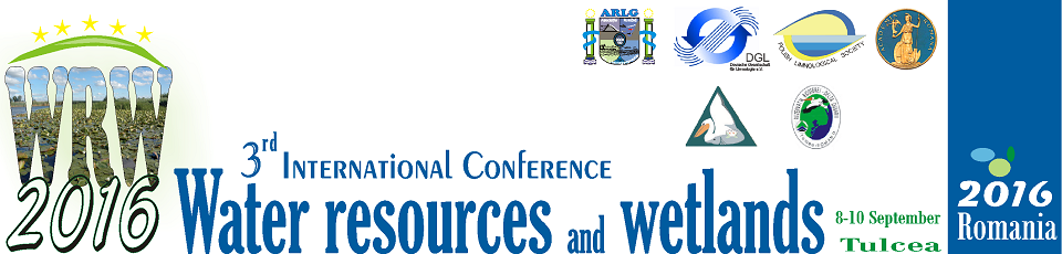 3rd International Conference Water resources and wetlands 2016 Tulcea Romania